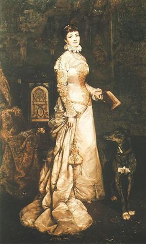 Portret Heleny Modrzejewskiej Tadeusza Ajdukiewicza 1880 Foto: wikipedia