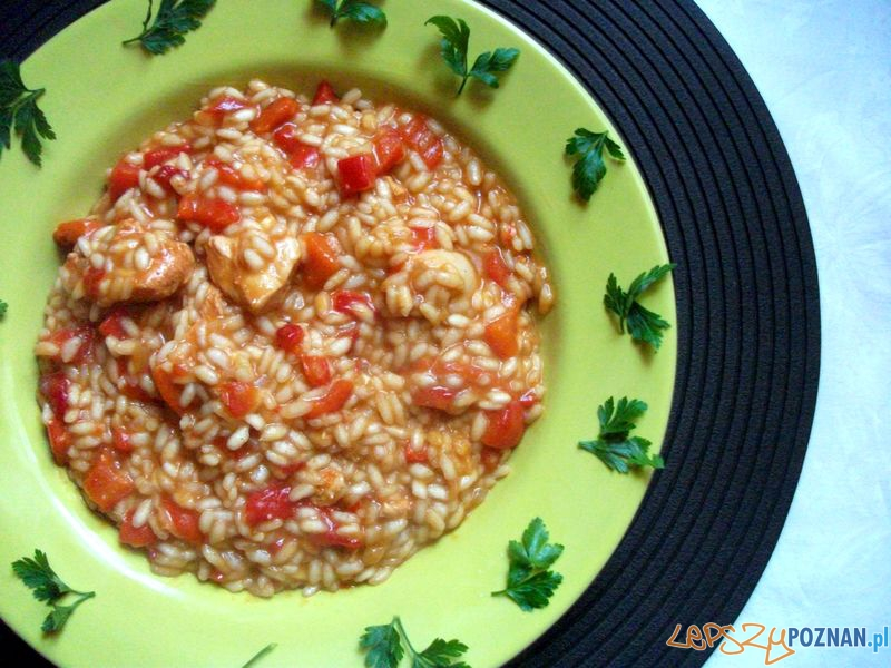Risotto z papryką  Foto: http://yobada.blogspot.com/