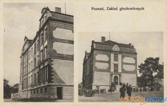 Zakład dla Głuchoniemych na Śródce, rok 1908 Foto: fotopolska