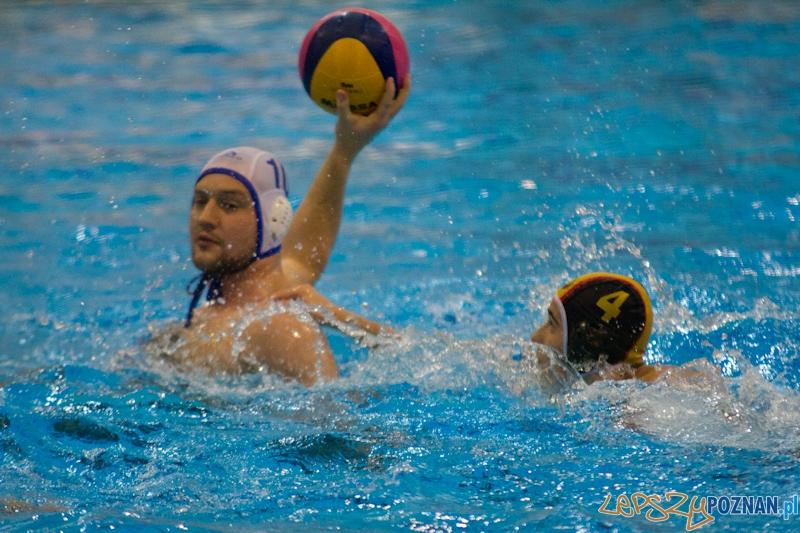 KS Waterpolo Poznań - UKPW Warszawa - Termy Maltańskie 13.01.2012 r.  Foto: lepszyPOZNAN.pl / Piotr Rychter