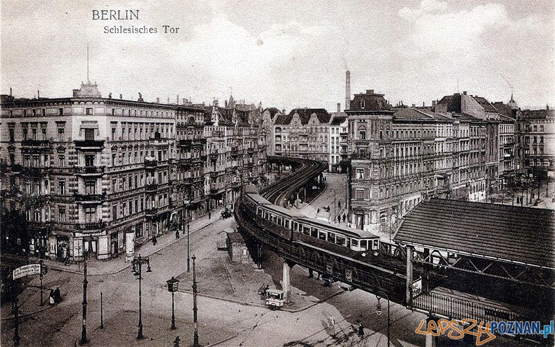 Berlin_U_Bahn_Schlesisches Tor_około roku 1902 Foto: wikipedia