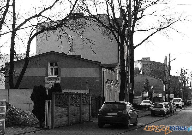 Fragmenty wiejskiej zabudowy na Górczynie Foto: wikipedia