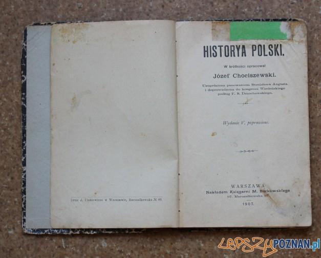 Historya Polski Jóżefa Chociszewskiego Foto: internet