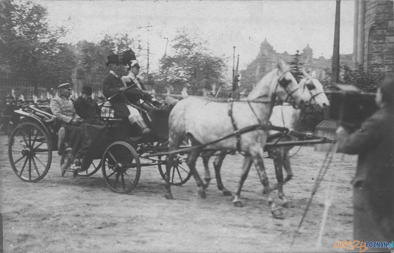 Józef Piłsudski podczas wizyty w Poznaniu październik 1919  Foto: