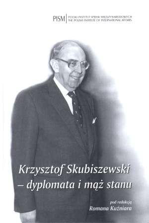 Skubiszewski - dyplomata i mąż stanu Foto: Książka Polskiego Instytutu Spraw Międzynarodowych, rok wydania 2011
