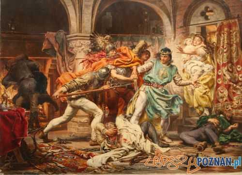 Śmierć Przemysła II Jana Matejki