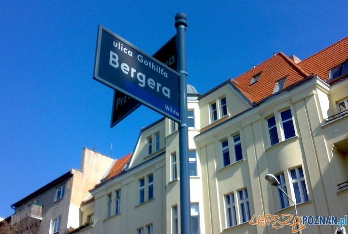 Ulica Bergera w Poznaniu