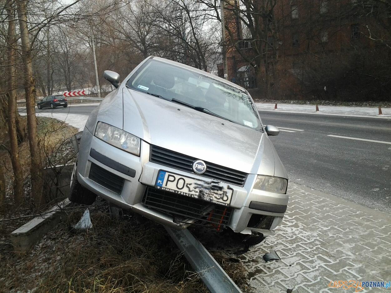 Wypadek na ulicy Browarnej  Foto: lepszyPOZNAN.pl /ag