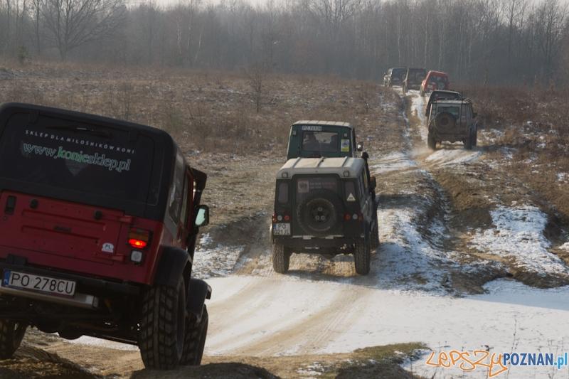 Awangarda na rajdzie terenowym - Biedrusko 4.02.2012 r.  Foto: lepszyPOZNAN.pl / Piotr Rychter