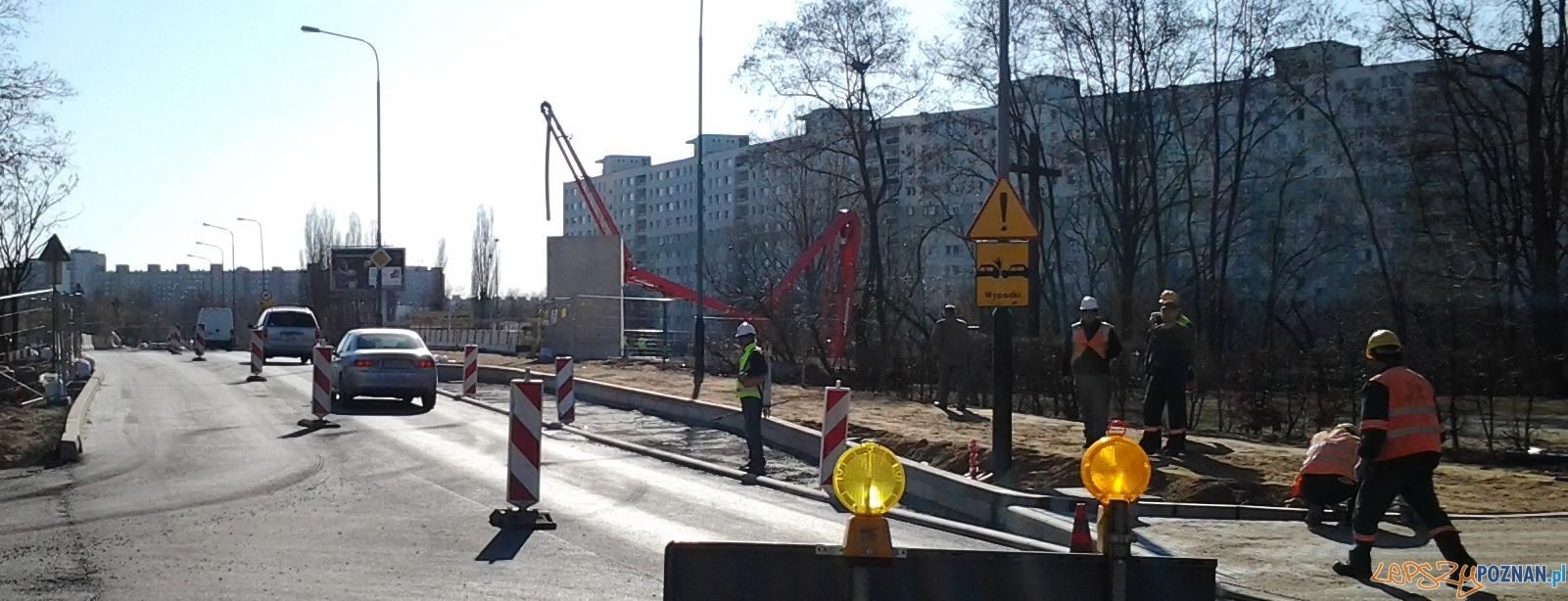 Ulica Chartowo już przejezdna  Foto: lepszyPOZNAN.pl / ag