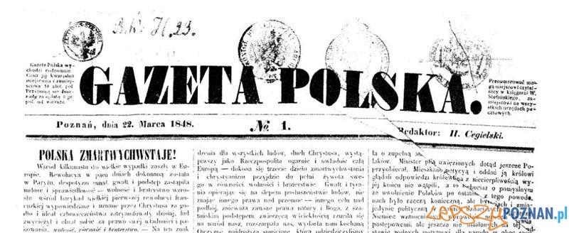 Gazeta Polska numer 1 Foto: Wielkopolska Biblioteka Cyfrowa