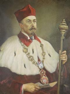 Jan Gabriel Grochmalicki, portret rektorski Foto: strony internetowe UAM