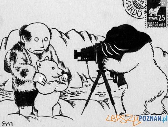 Karykatura Stanisława Mrowińskiego Foto: http://polansto.pl/