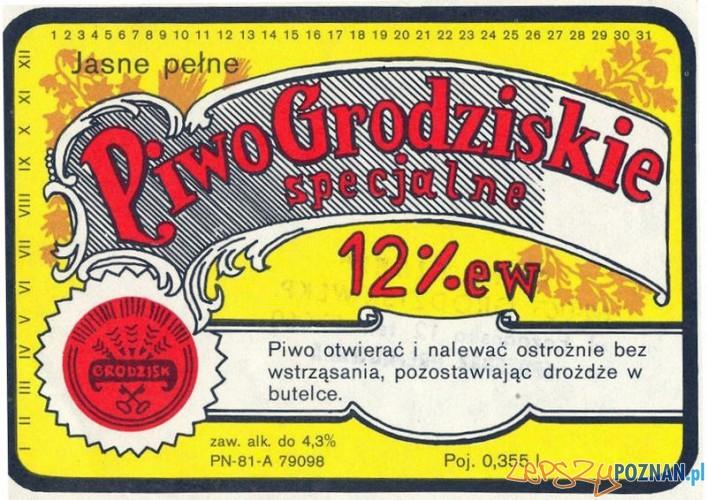 Piwo_grodziskie - etykieta Foto: wikipedia
