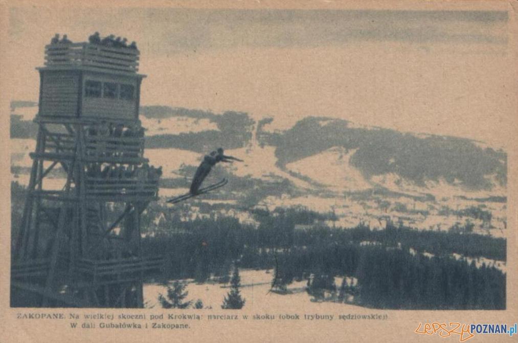 Skoki narciarskie na Wielkiej Krokwi (1925 - 1930) Foto: fotopolska