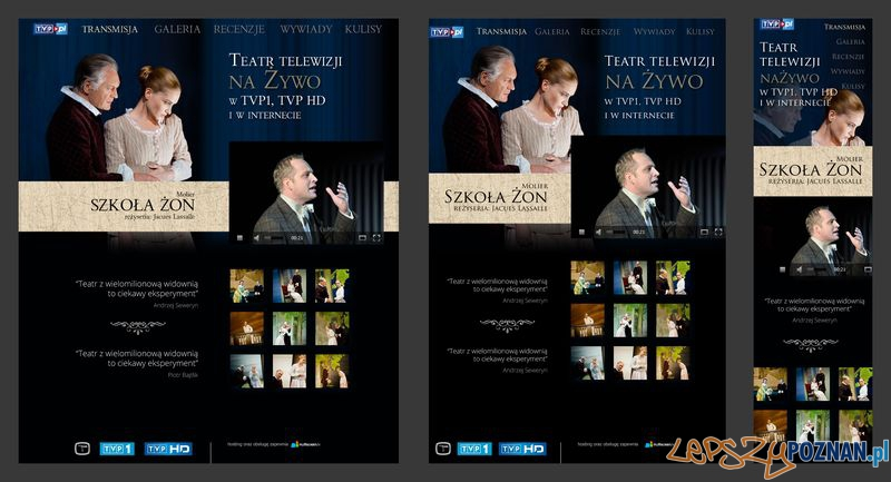 Teatr Telewizji na tabletach i smartfonach  Foto: materiały prasowe