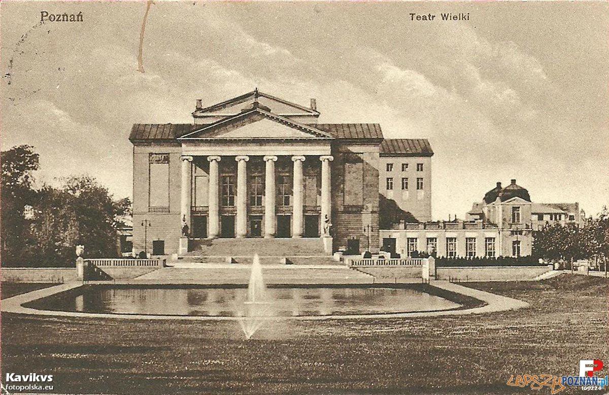 Teatr Wielki w Poznaniu, lata 20 XX wieku