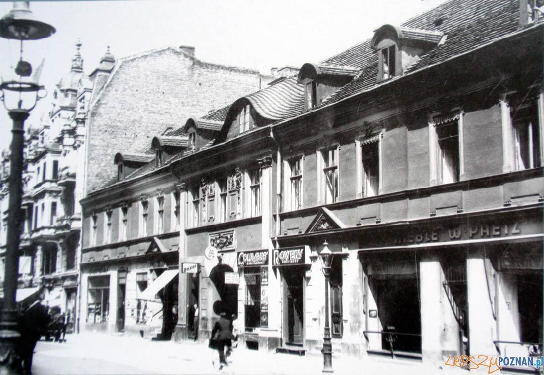 Dawny Hotel Saski, przy ulicy Wrocławskiej