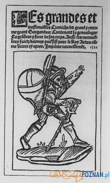 Gargantua i Pantagruel Rabelais, pierwsze wydanie z 1532 roku Foto: wikipedia