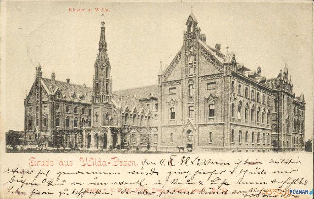 Klasztor na Wildzie, dziś szpital ortopedyczny przy ulicy 28 czerwca 1956