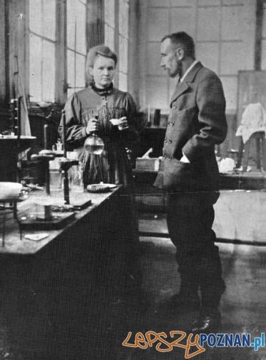 Maria Skłodowska - Curie i Piotr Curie