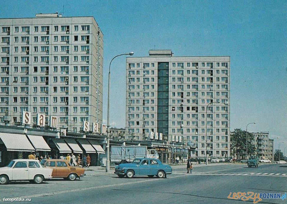 Osiedle Pod Lipami ulica Słowiańska, lata 70-te Foto: fotopolska