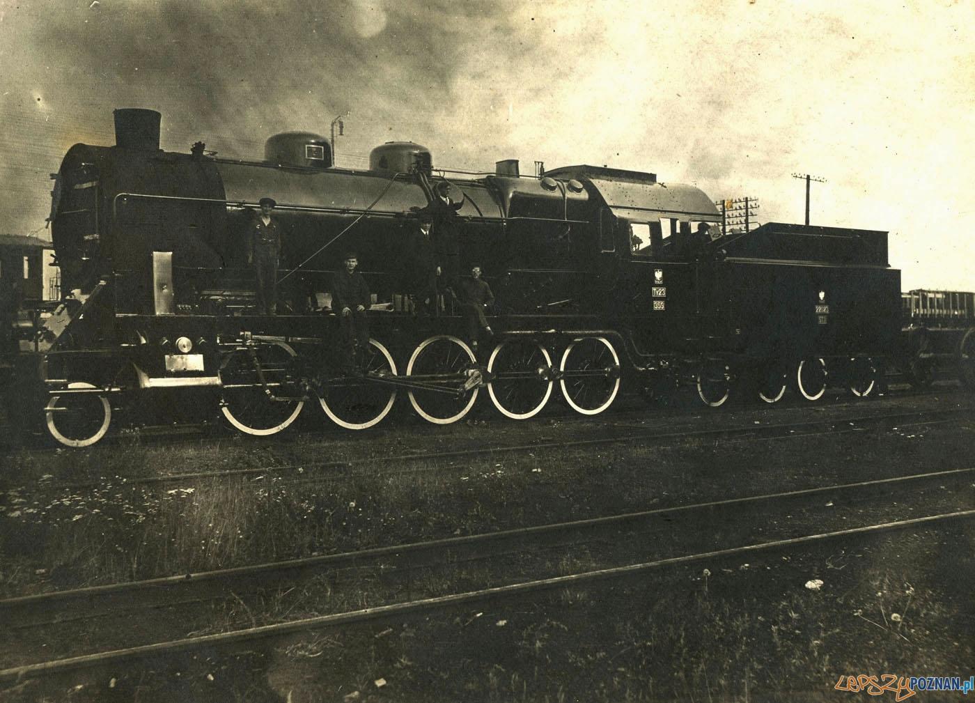 Parowóz w Zakładach Cegielskiego rok 1929