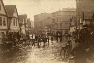 Powódź na Chwaliszewie w 1888 roku