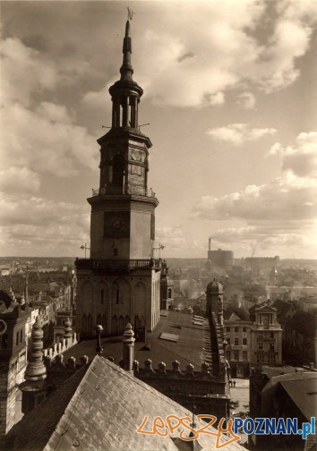 Ratusz, lata 20 XX wieku Foto: fotopolska.eu