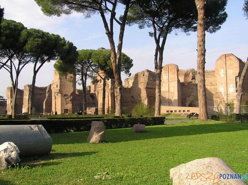 Termy Karakalli w Rzymie Foto: wikipedia