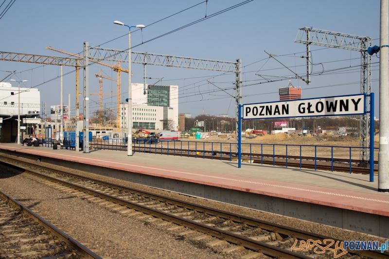 Dworzec Główny PKP Poznań  Foto: lepszyPOZNAN.pl / Piotr Rychter