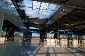 Nowy terminal pasażerski na Ławicy - Poznań 28.05.2012 r.