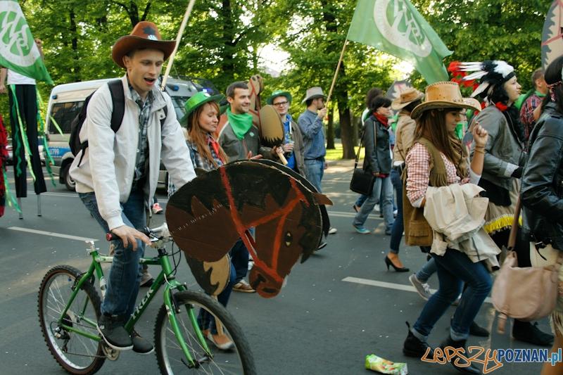 Juwenalia 2012 - Pochód studentów - Poznań .17.05.2012 r. Foto: Ewelina Gutowska