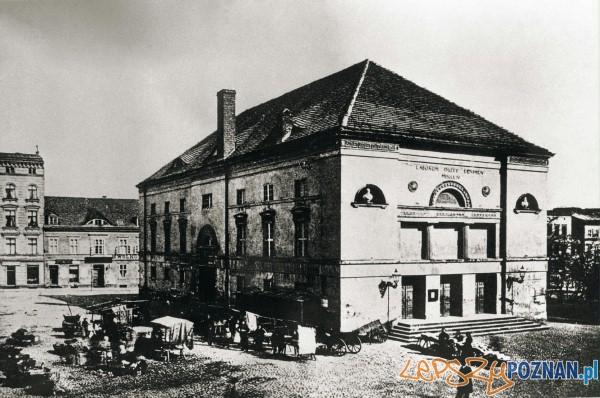 Dawny Teatr Miejski w miejscu dzisiejszej Arkadii Foto: cc