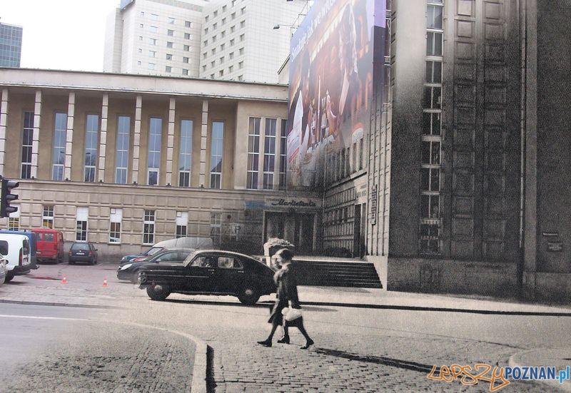 Dom Żołnierza dawniej i dziś Foto: Michał Fechner, fotoportal.poznan.pl