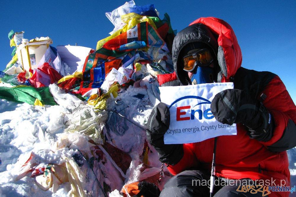 Magdalena Prask na Mount Everest Foto: magdalenaprask.pl