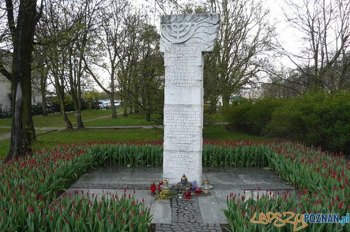 Pomnik Ofiar obozu pracy dla Żydów w Poznaniu Foto: wikipedia