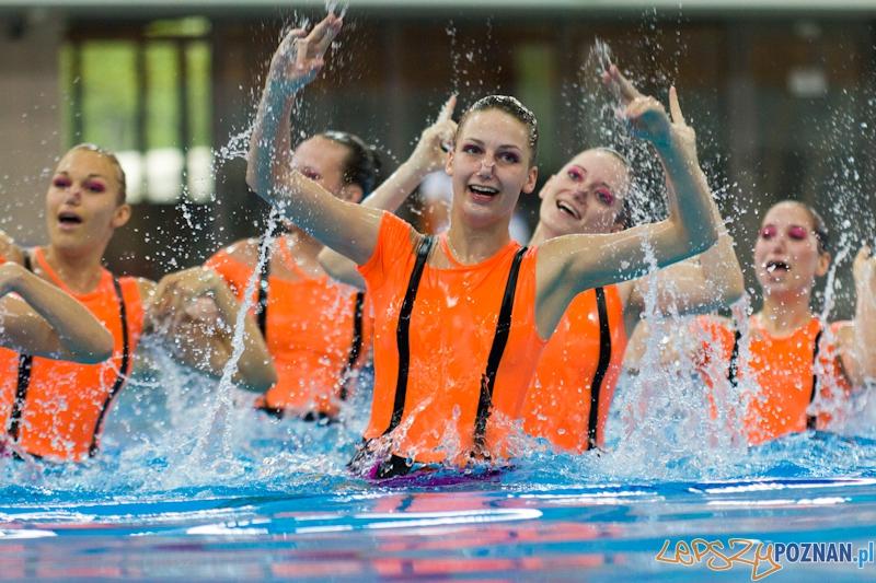 Mistrzostwa Polski Open w pływaniu synchronicznym Foto: lepszyPOZNAN.pl / Piotr Rychter