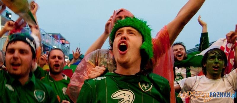 Strefa Kibica Euro2012 - mecz Irlandia - Chorwacja Foto: lepszyPOZNAN.pl / Paweł Rychter