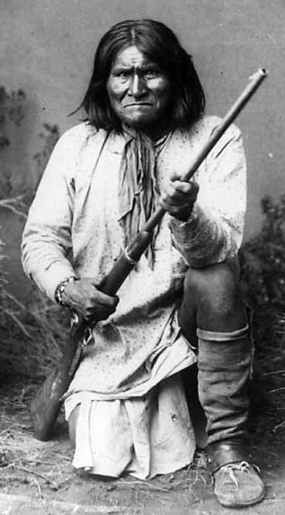 Geronimo, lata 80 XIX wieku Foto: wikipedia.pl