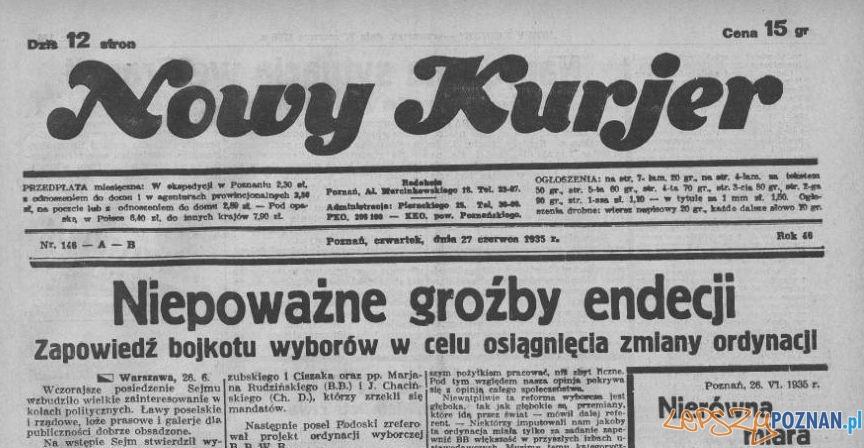 Nowy Kurjer 27 czerwca 1935