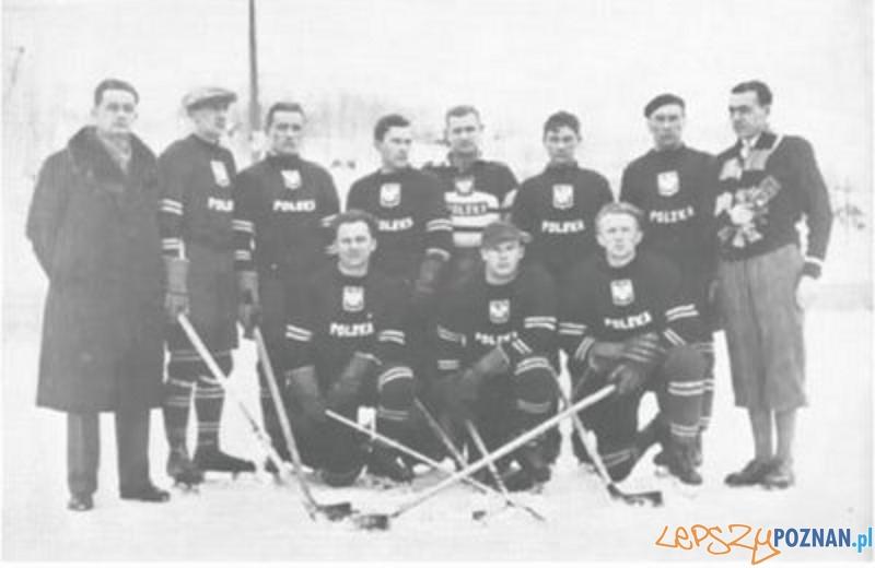 Polska reprezentacja hokeja w 1932 roku Foto: wikipedia.pl