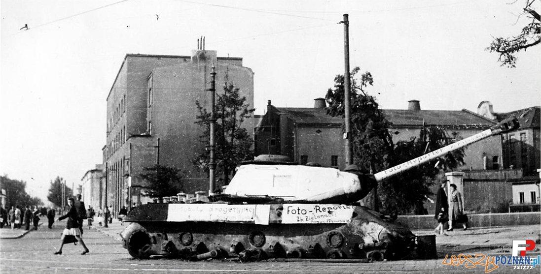 Poznań w 1945 roku  Foto: Zielonacki, fotopolska