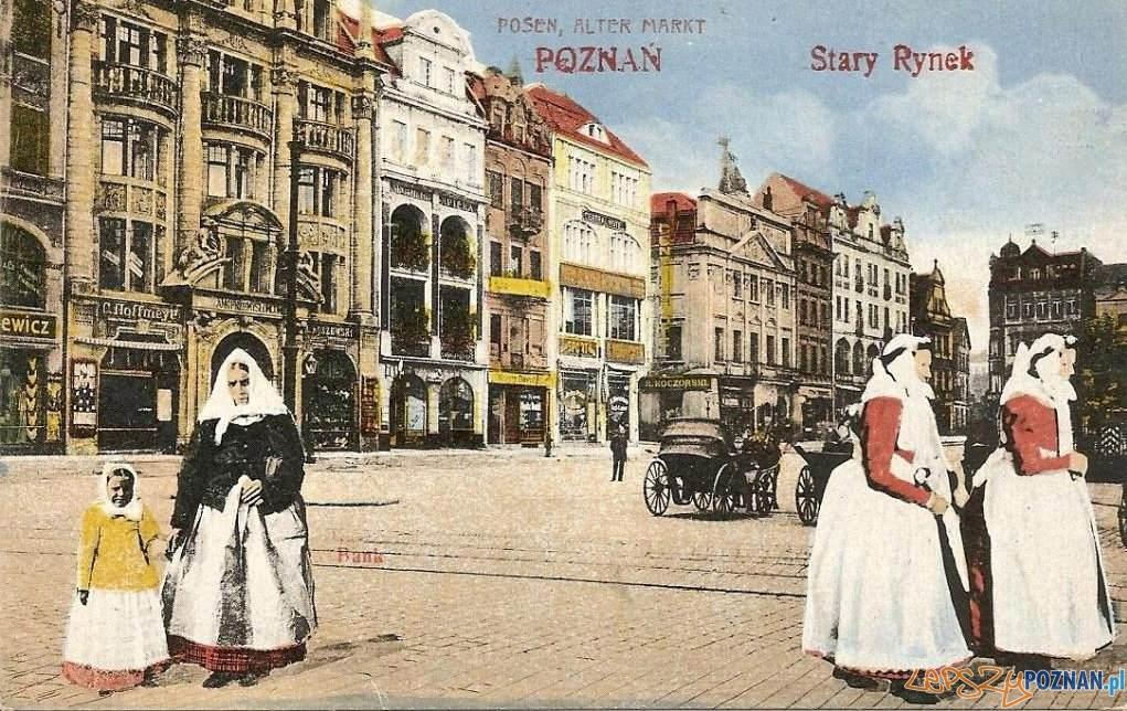 Stary Rynek z Pałacem Działyńskich Foto: fotopolska.eu