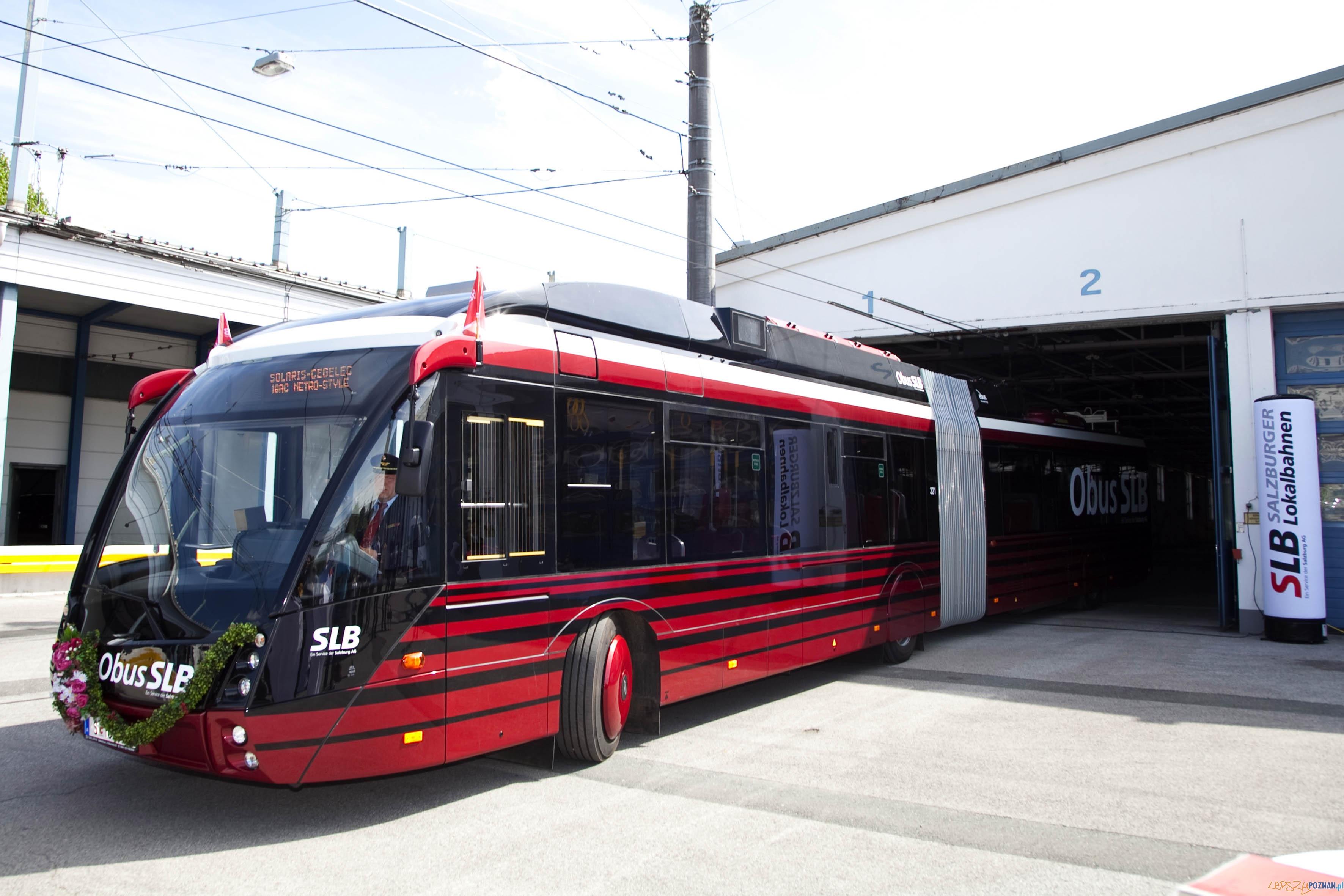 Trolejbus dla Salzburga  Foto: © Wildbild
