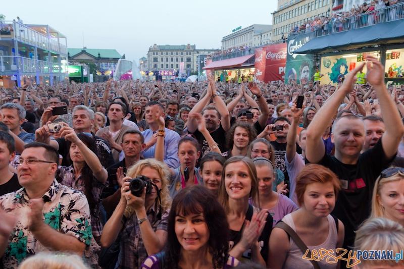 Koncert zespołu Alphaville w Strefie Kibica UEFA EURO 2012  Foto: lepszyPOZNAN.pl / Piotr Rychter