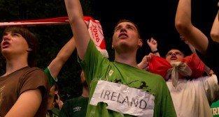 Włochy - Irlandia - doping w Oficjalnej Strefie Kibica UEFA EURO Poznań 2012