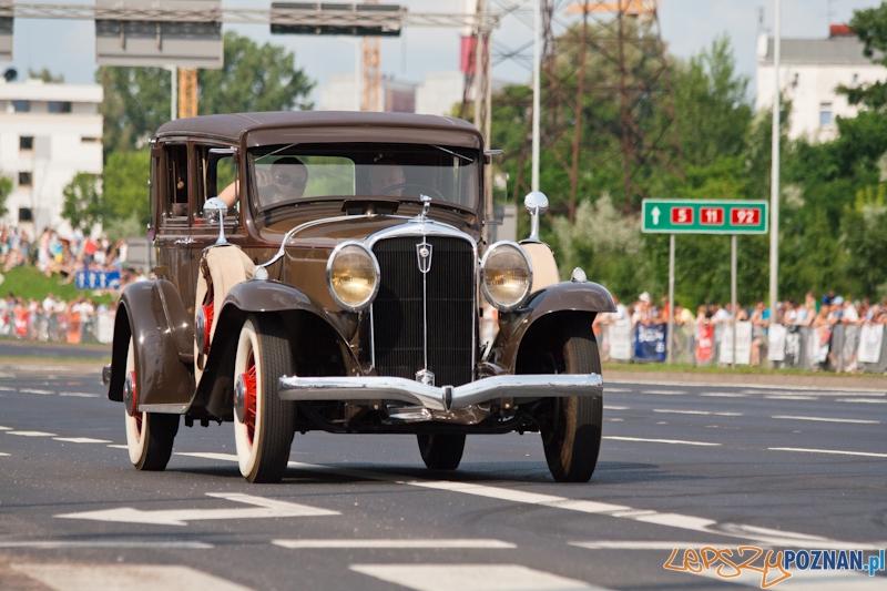 Gran Turismo Polonia 2012 - Pokazy uliczne - Ponań 01.07.2012 r.  Foto: Ewelina Gutowska