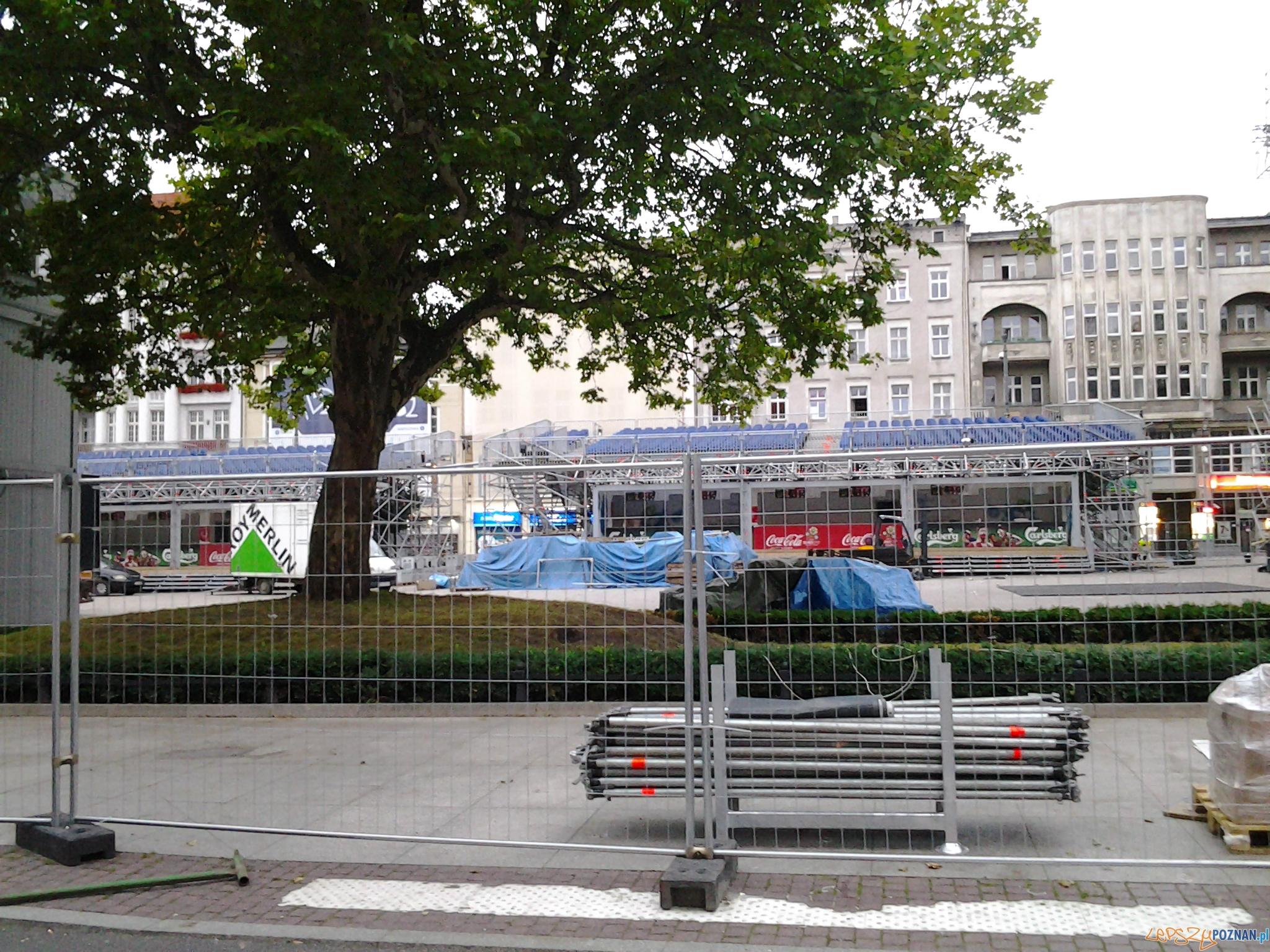 Znika Strefa Kibica  Foto: lepszyPOZNAN.pl / gsm