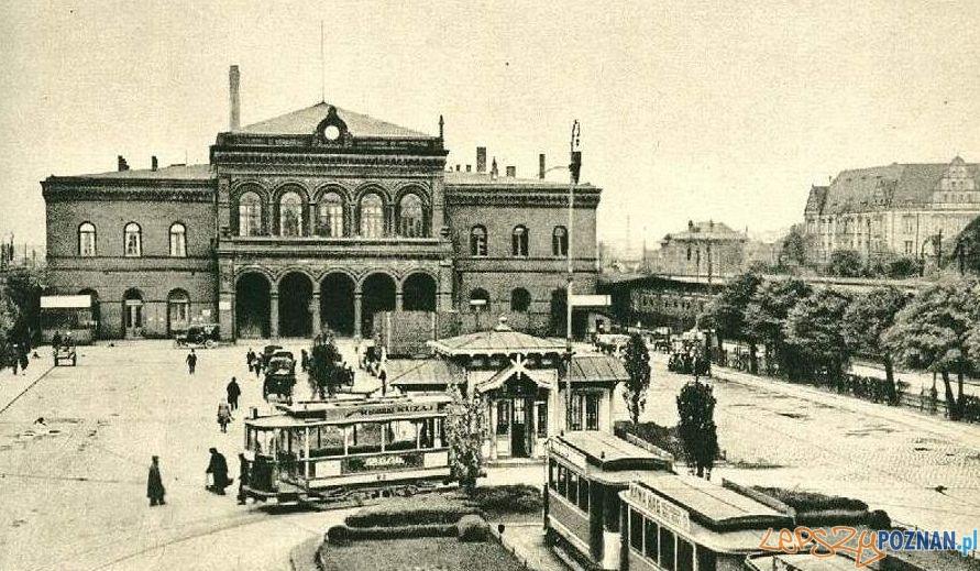 Dworzec kolejowy w Poznaniu, 1924 r